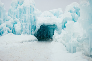 ice castle frozen